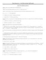 Bài tập tổng hợp anđêhit xeton