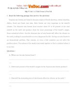 Bài tập tiếng anh lớp 9 unit 1 a visit from a pen pal số 2