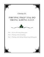 Bìa giáo án hình học chuong3