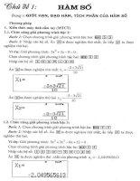 Giải các dạng toán THPT với máy tinh cầm tay 570VN plus