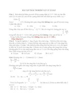 BÀI tập TRẮC NGHIỆM vật lý 12 HAY