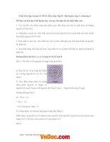 Giải bài tập trang 31 SGK hóa học lớp 8 bài luyện tập 1 chương 1