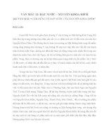 Tổng hợp các bài văn mẫu bài thơ đất nước của nguyễn khoa điềm Văn mẫu lớp 12  Bài 3