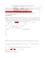 17 câu TRẮC NGHIỆM vật lý 12 có đáp án