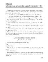 Chuẩn bị kiến thức  kỹ năng làm bài thi môn văn 12 Nguyễn Xuân Lạc p4