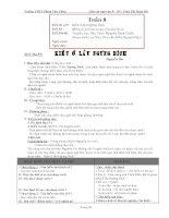 Giáo án ngữ văn lớp 9 tuần 8