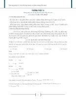 Phương pháp 14 chia hỗn hợp thành các phần không đều nhau