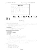 Giáo án ngữ văn lớp 9 tuần 10