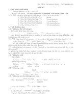 Các dạng toán về ankan anken ankin và hidrocacbon thơm (có hướng dẫn giải) Luyện thi đại học