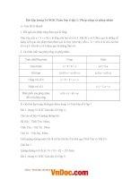 Giải bài tập trang 16 SGK toán lớp 6 tập 1 phép cộng và phép nhân