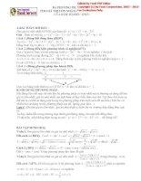 Ba phương pháp tìm giá trị lớn nhất và giá trị nhỏ nhất   tài liệu học tập môn toán