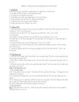 Đề cương ôn tập môn ngữ văn lớp 7