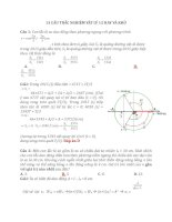 13 câu TRẮC NGHIỆM vật lý 12 HAY và KHÓ