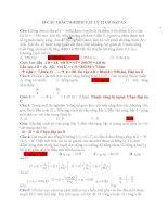 18 câu TRẮC NGHIỆM vật lý 12 có đáp án