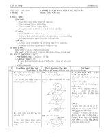 Giáo án hình học lớp 12 tiết 18