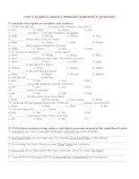 Bài tập tiếng anh lớp 12 unit 1