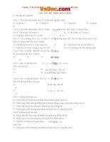 Phép biến hình bài tập hình học lớp 11