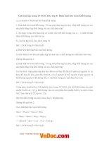 Giải bài tập trang 54 SGK hóa lớp 8 định luật bảo toàn khối lượng