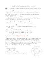 10 câu TRẮC NGHIỆM vật lý HAY và KHÓ