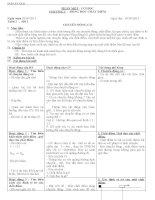 10 giáo án vật lý 10 NC tuần 1 đến 7