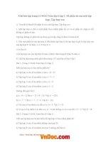 Giải bài tập trang 13 SGK toán lớp 6 tập 1 số phần tử của một tập hợp, tập hợp con