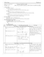 Giáo án hình học lớp 12 tiết 09