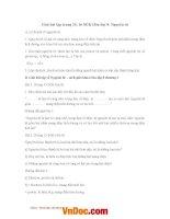 Giải bài tập trang 15, 16 SGK hóa lớp 8 nguyên tử