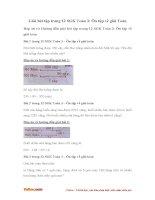 Giải bài tập trang 12 SGK Toán 3: Ôn tập về giải Toán