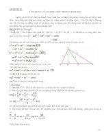 Chương ii ứng dụng của lượng giác trong hình học