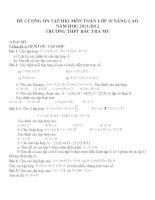 Đề cương ôn tập môn toán lớp 10 (32)