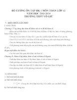 Đề cương ôn tập mon toán lớp 12  (2)