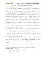 Giải bài tập trang 30 SGK Sinh học lớp 10: Axit nuclêic