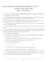 Đề cương ôn tập mon toán lớp 12  (4)