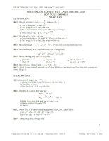 Đề cương ôn tập môn toán lớp 11 (52)