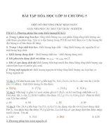 Bài tập hóa học lớp 10 (5)