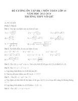 Đề cương ôn tập môn toán lớp 10 (42)