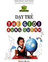 dạy trẻ thế giới xung quanh   janet doman glenn doman