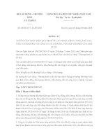 Thông tư 28/2016/TT-BLĐTBXH về lao động, tiền lương, tiền thưởng đối với công ty có vốn góp chi phối của Nhà nước