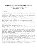 đề cương ôn tập môn vật lý lớp 8 (30)