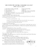 Đề cương ôn tập môn vật lý lớp 9 (17)