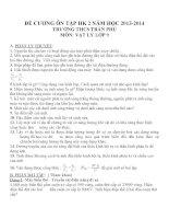 Đề cương ôn tập môn vật lý lớp 9 (13)