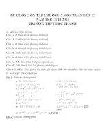 Đề cương ôn tập mon toán lớp 12  (26)
