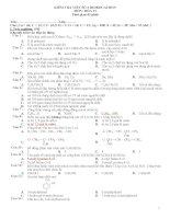 ANCOL   PHENOL đề 1