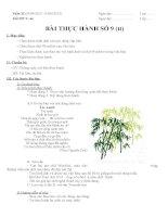 Giáo án tin học lớp 8 tuan 33 tiết 66 (bai thuc hanh so 9) (tt)