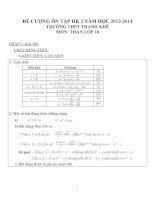 Đề cương ôn tập môn toán lớp 10 (68)