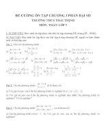 Đề cương ôn tập môn toán lớp 9 (42)