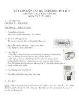 Đề cương ôn tập môn vật lý lớp 9 (37)