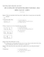 đề cương ôn tập môn vật lý lớp 8 (28)