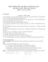 Đề cương ôn tập môn vật lý lớp 9 (31)