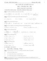 Đề cương ôn tập môn toán lớp 11 (4)